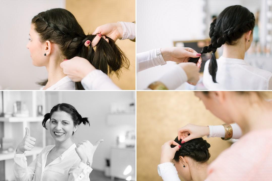 Hochzeitsfrisur, Hochsteckfrisur, Dorelies Hofer, Wien, Hochzeitsfotografie, Hochzeitsfotografin, Babyfotografin, Protraitfotografin