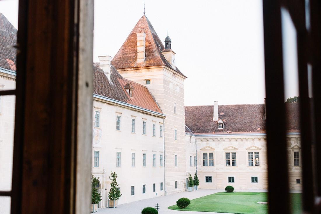 Portraitfotos, Dorelies Hofer, Schloss Walpersdorf, Österreich, Filmfotografie